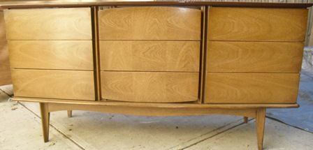 United Furniture Company Low Dresser Mid Century Modern
