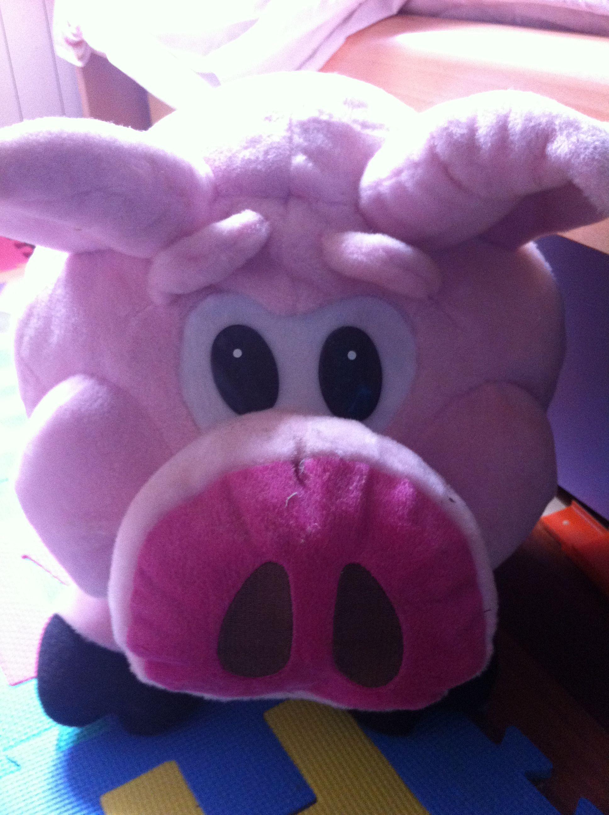 Cerdo de peluche