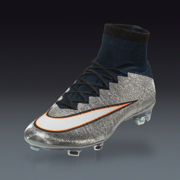 Nike Mercurial Superfly CR7 FG - Metallic Silver Firm Ground Soccer Shoes |  SOCCER.COM