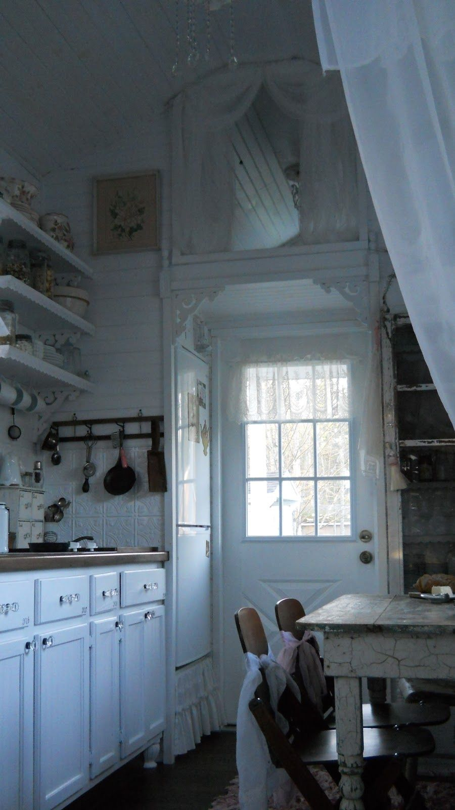 Wohndesign in der küche shabby chic tiny retreat tiny house update  inspirierendes