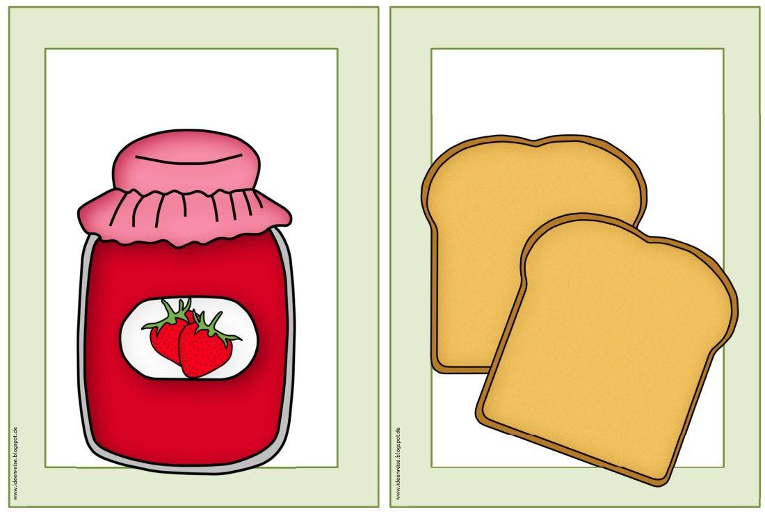 ideenreise flashcards wordcards breakfast englischunterricht pinterest. Black Bedroom Furniture Sets. Home Design Ideas