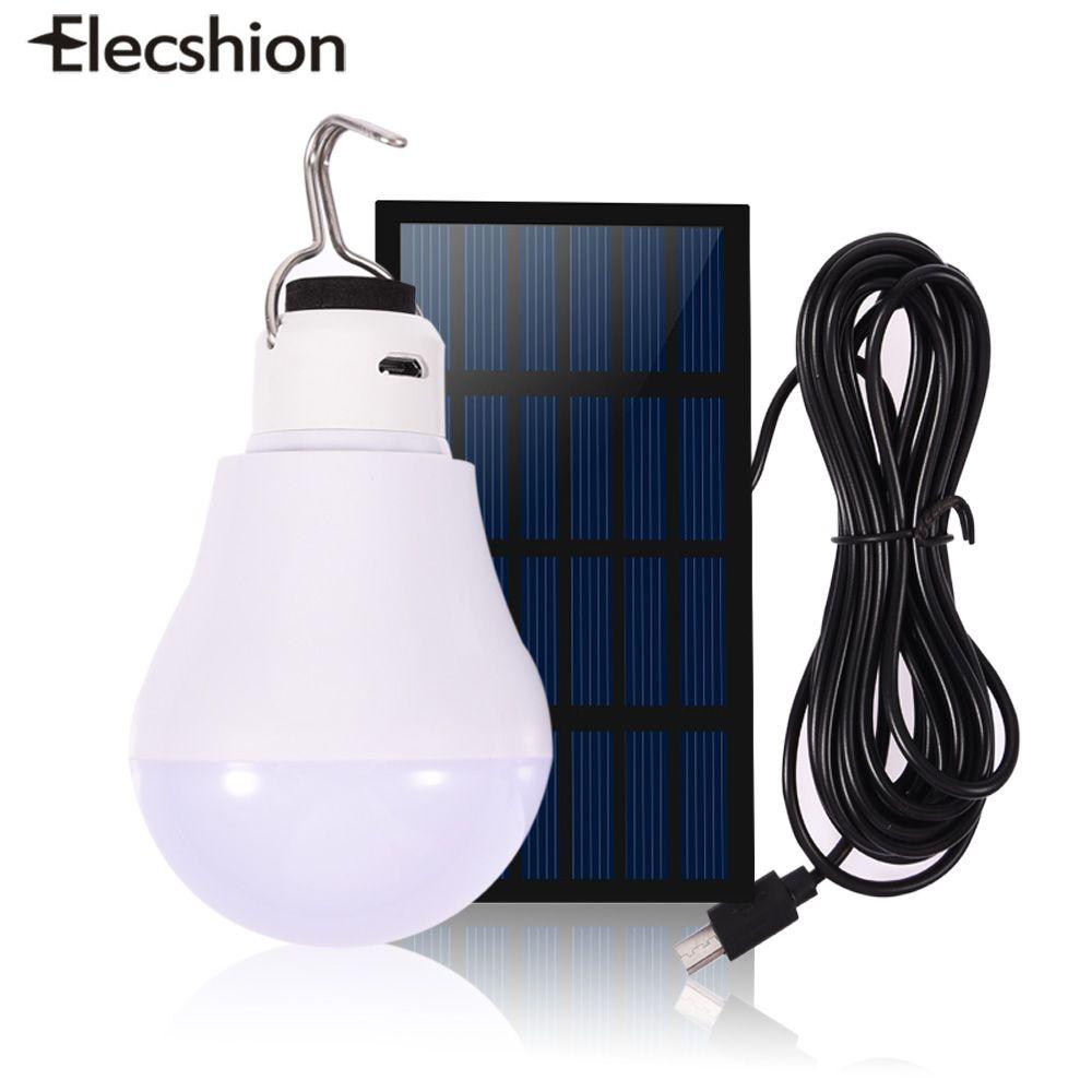 elecshion led energie solar power led lamp overal licht buitenverlichting zonlicht draadloze muur tuinpad straat tent