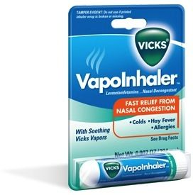Pin by Resources For Life on Health   Vicks vapor inhaler