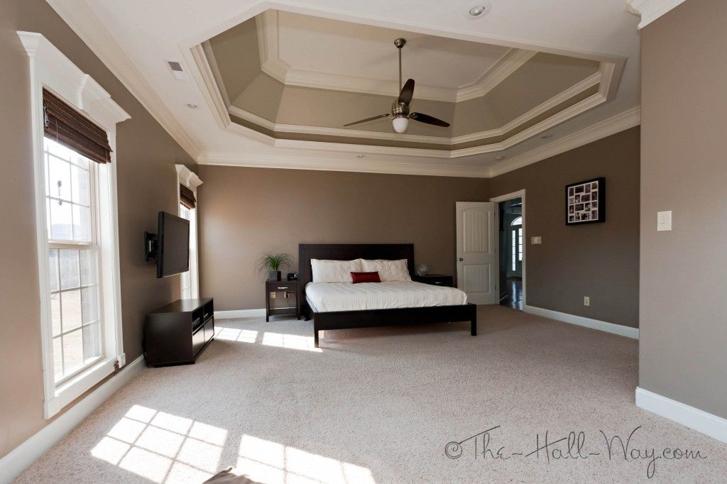 SW Tavern Taupe Tray Ceiling Is The 2 Shades Lighter Than It Stone