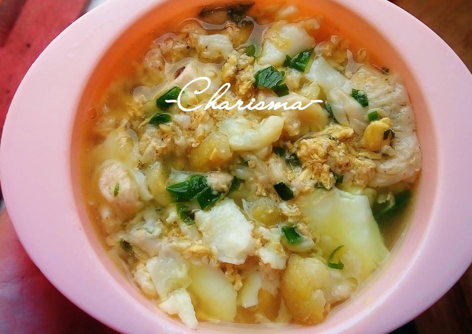 Resep Sup Telur Menu Balita 1y Oleh Charis Resep Resep Makanan Bayi Makanan Bayi Resep