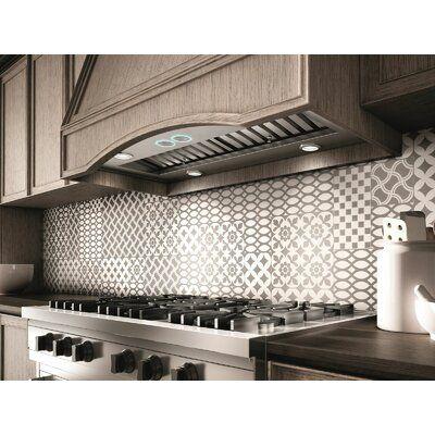 Elica 41 Arezzo 1200 Cfm Ducted Insert Range Hood In 2021 Range Hood Range Hood Insert Kitchen Design