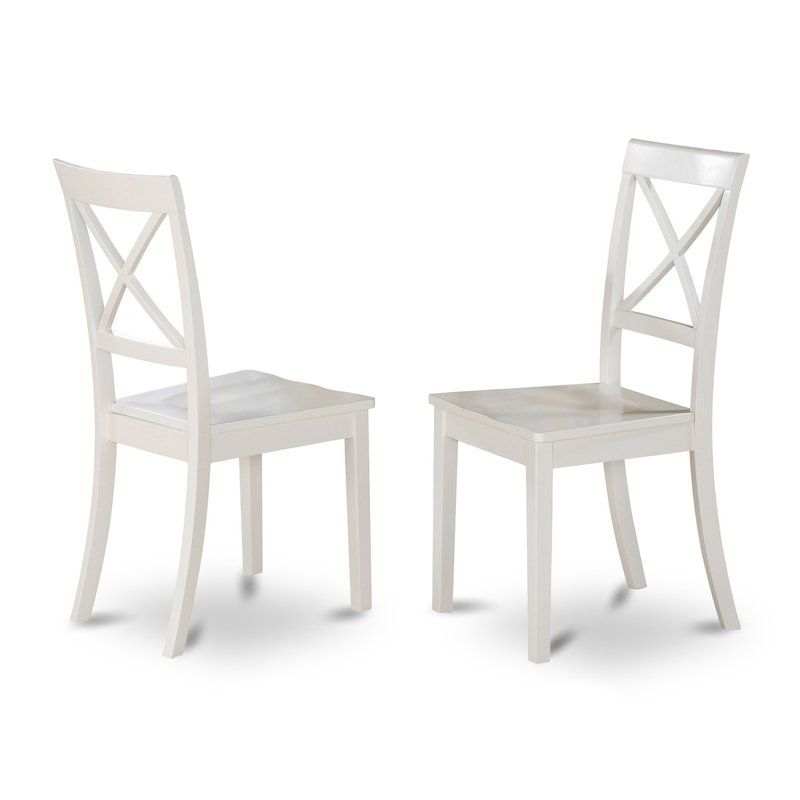 Hillhouse Solid Wood Dining Chair With Images Wooden Dining