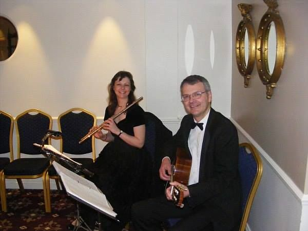 Live Music For Your Wedding Ceremony Carillon Flute And Guitar Duo Perform Background
