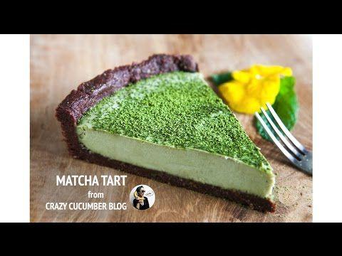 Chocolate Matcha Tart - Crazy Cucumber