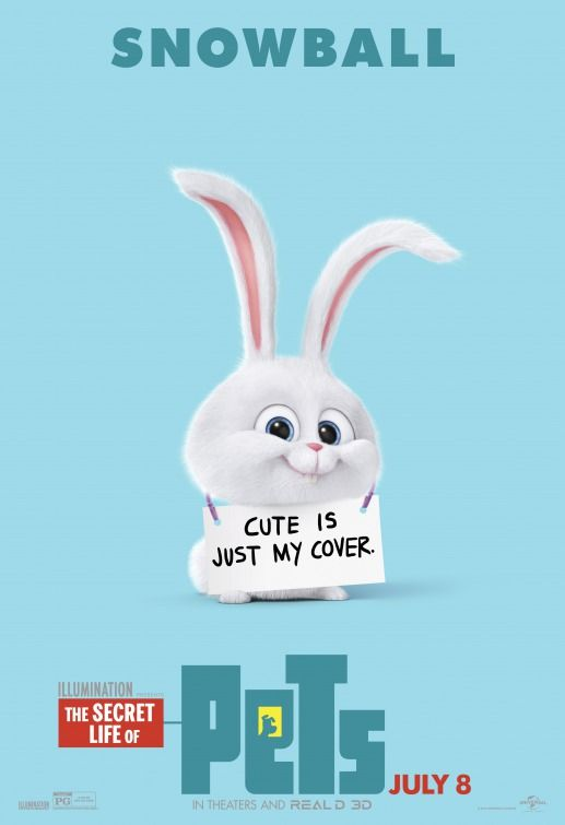 The Secret Life Of Pets Movie Poster 3 Of 12 Pets Movie