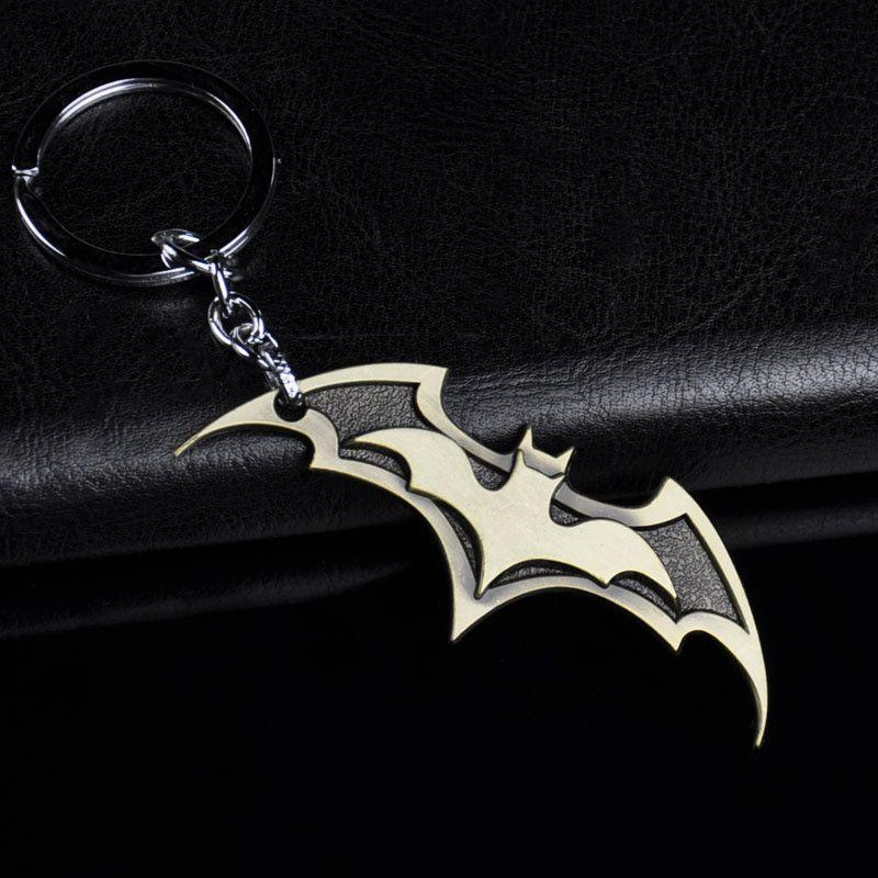 new superhero marvel batman keychain men trinket super heronew superhero marvel batman keychain men trinket super hero spiderman car key chain chaveiro key ring jewelry gift souvenirs
