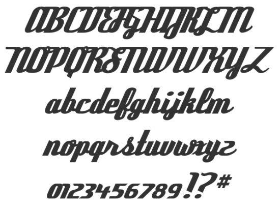 Vintage Fonts Vintage Fonts Retro Typography Retro Font