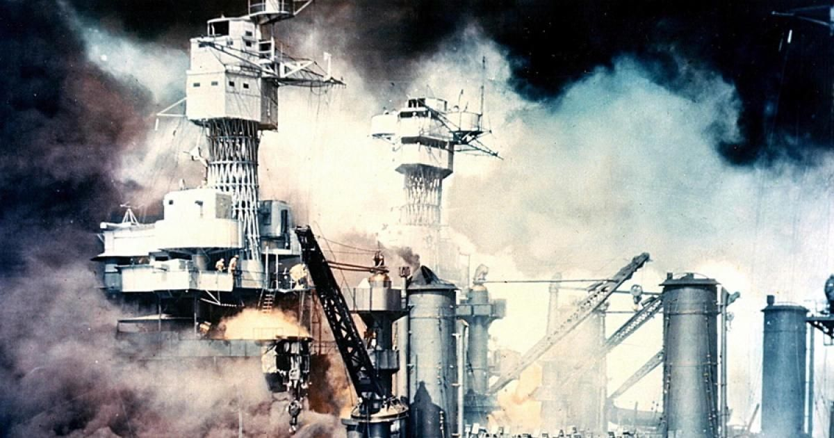 On December 7 1941 The Japanese Surprise Attacked Pearl Harbor