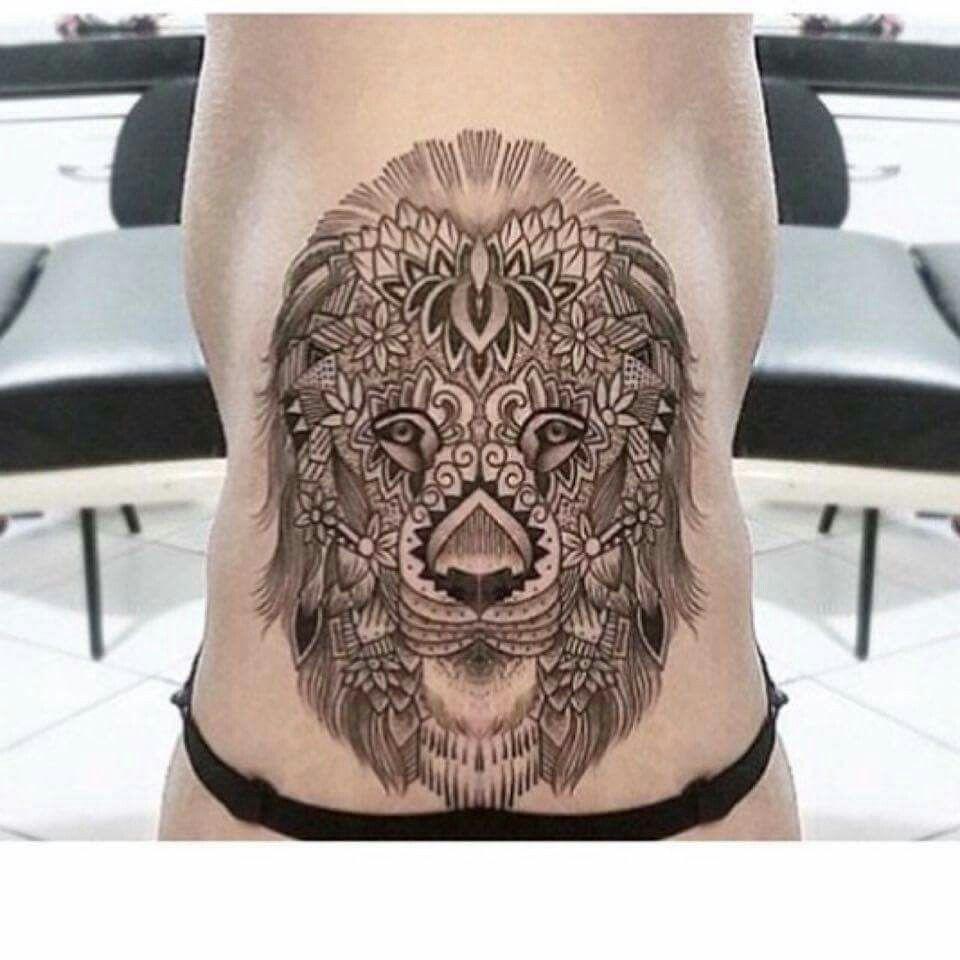 le n mandala torso midriff tattoo ideas pinterest le n y tatuajes. Black Bedroom Furniture Sets. Home Design Ideas