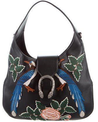 1f0b20470860 Gucci 2016 Medium Embroidered Dionysus Hobo #fashion #pandafashion #hobo # gucci