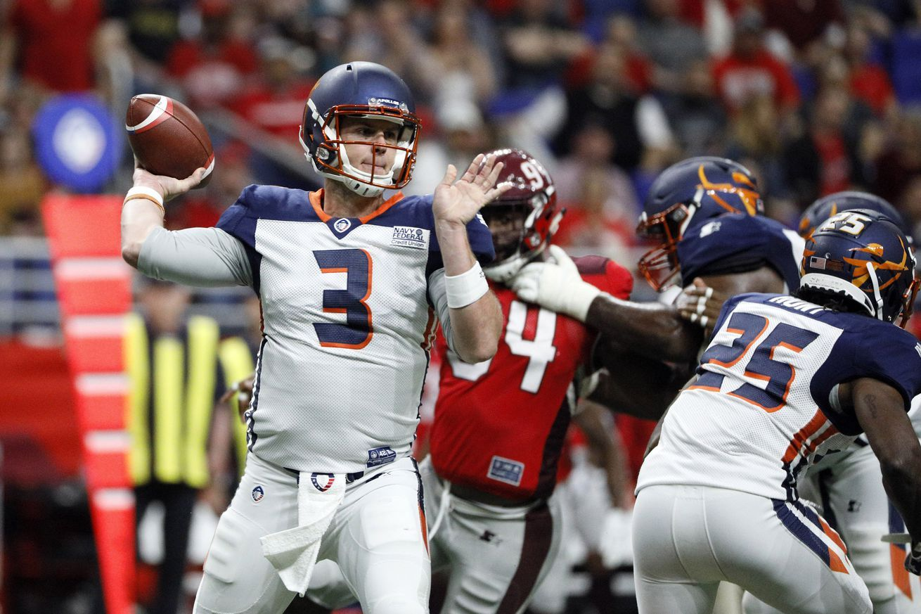 AAF 2019 schedule Game times TV channels and live stream
