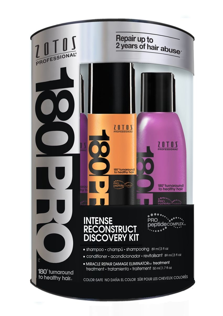 Zotos Professional 180pro Intense Reconstruct Discovery Kit News