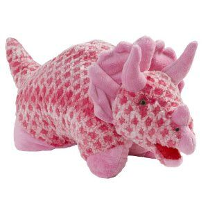 Dinosaur Pillow Pets Pink Triceratops Pillow Pet Animal