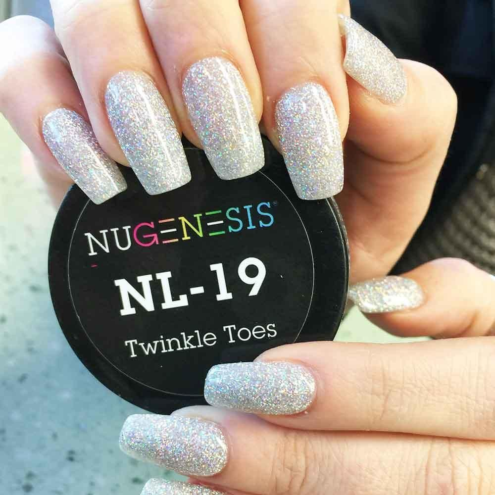 Nl 19 Twinkle Toes Dipped Nails Dip Nail Colors Nail Manicure