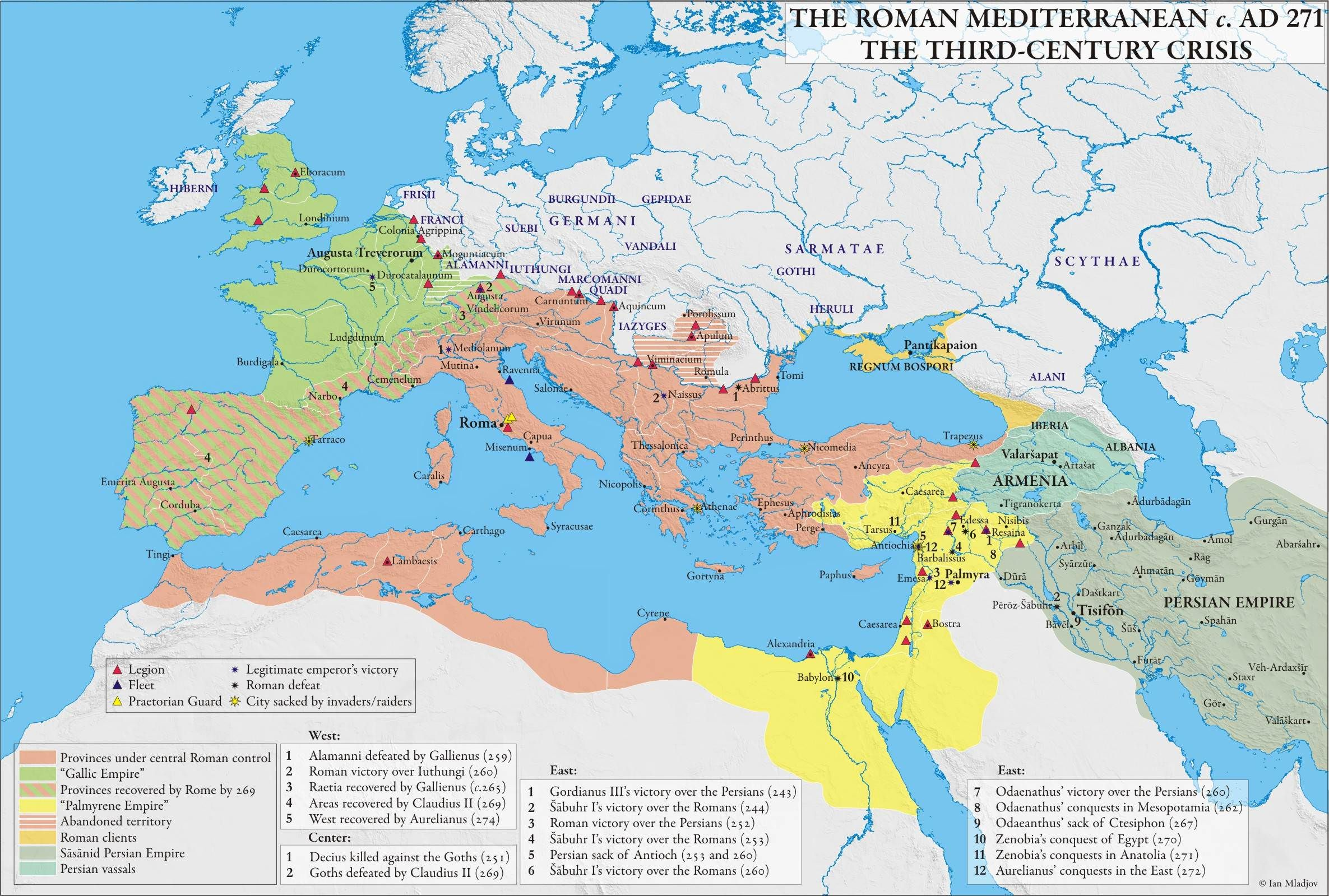 The State Of The Roman Empire During The Crisis Of The Third