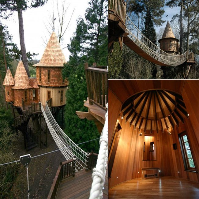 7 Amazing Houses Built Into Nature: Extreme Tree Houses Tv Show