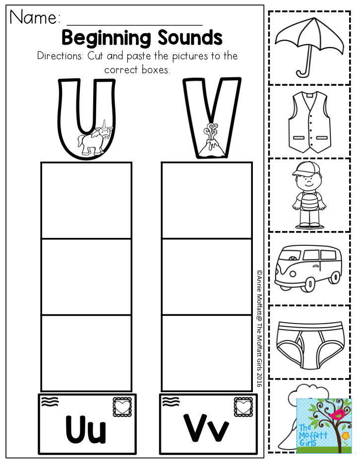 Beginning Sounds (Letter Sorting)- A fun way to practice