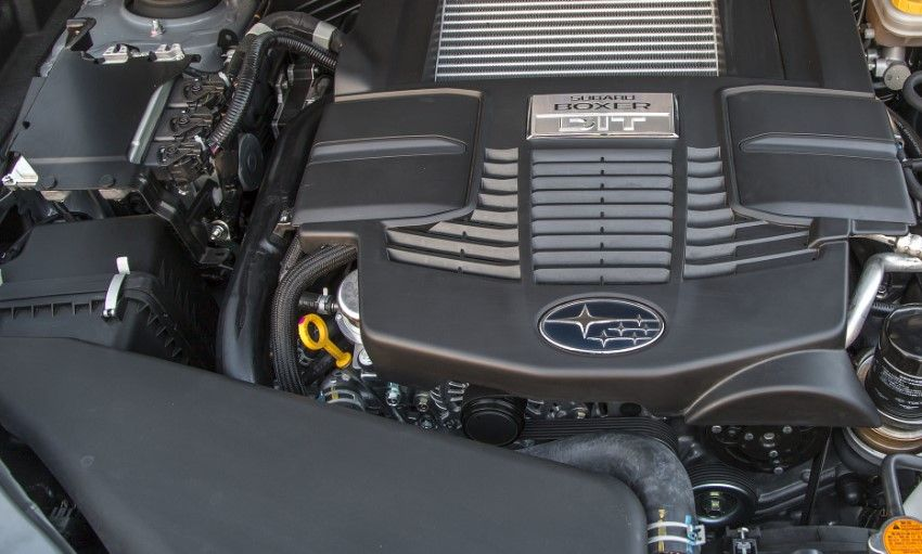 2020 Subaru Forester Engine System