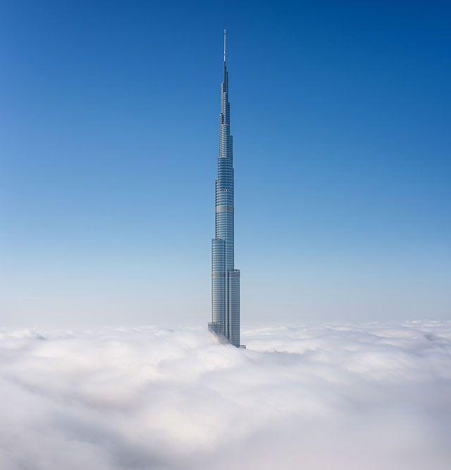Fog Over Dubai Buildings Photography_8