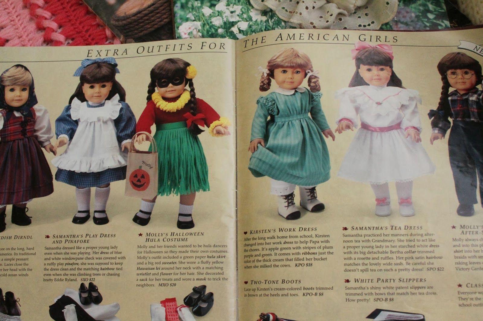 American Girl Doll Kirsten Skating Skirt