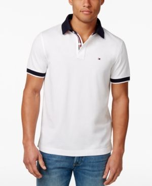 6c8d4a7f4 TOMMY HILFIGER MEN'S BIG & TALL SANDERS LOGO FIT POLO. #tommyhilfiger #cloth  #