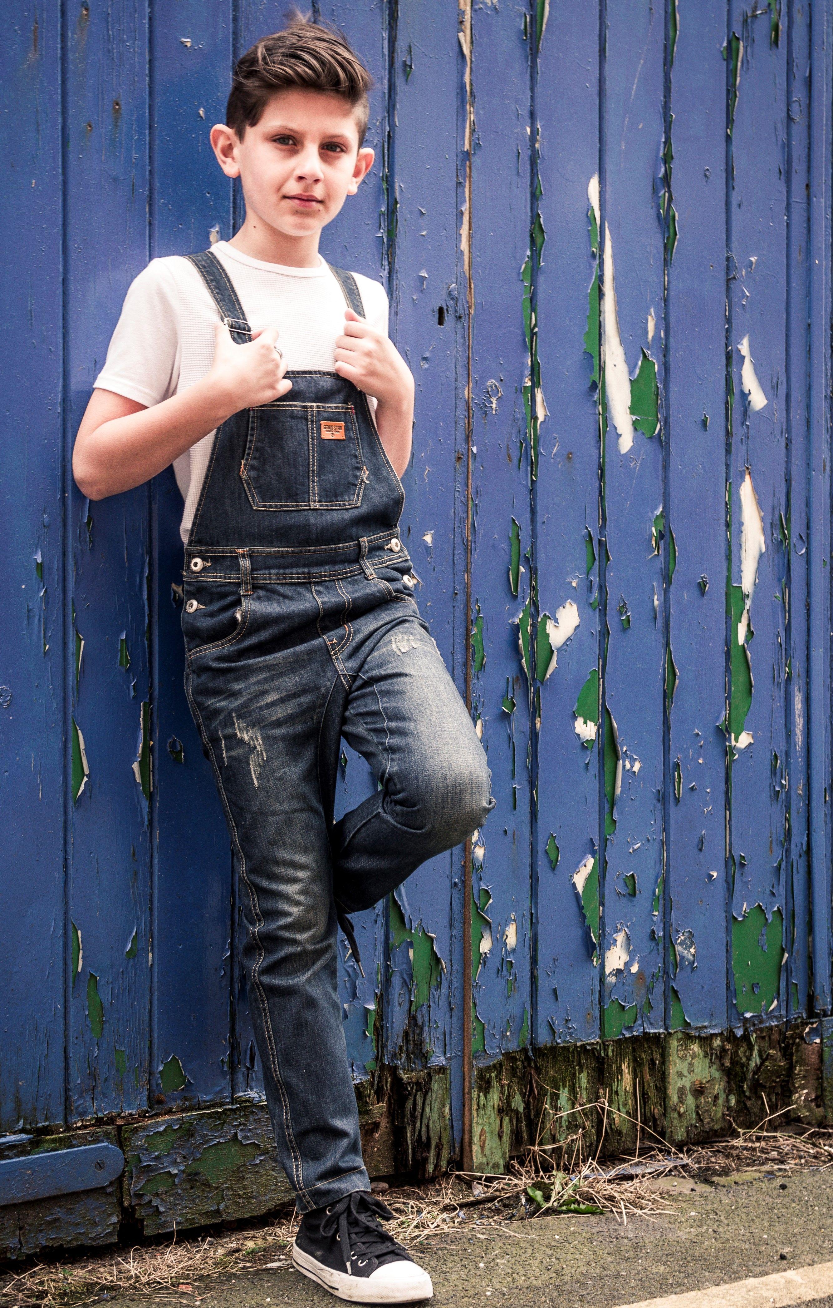 Boys Denim Bib-overalls. #dungarees #kidsfashion | Dungarees, Kids  dungarees, Overalls