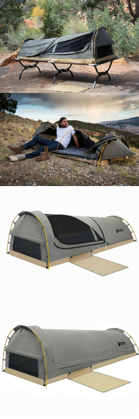 best service e7cc1 0b1d0 Perfect for spur-of-the-moment adventures, the Kodiak Canvas ...