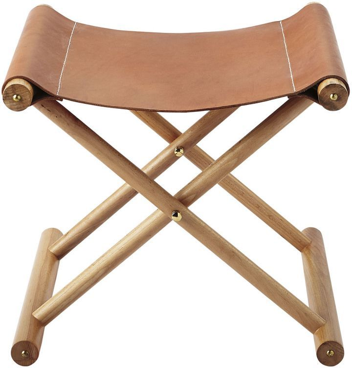 Cooper Leather Stool Ch55 02 In 2019 Leather Stool