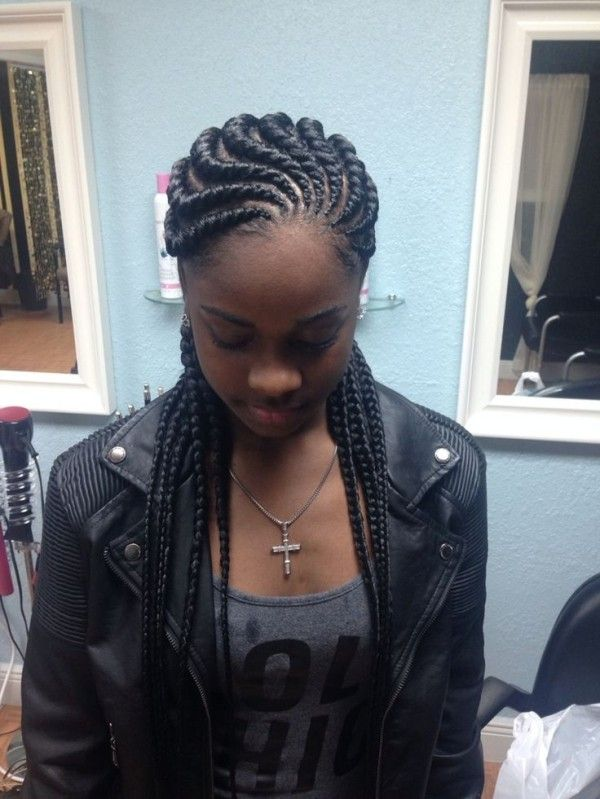 Ghana Braids Hairstyles 51 Latest Ghana Braids Hairstyles With Pictures  Pinterest