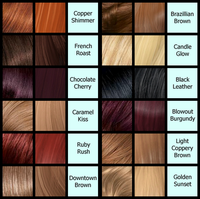 What Color Is Calling Your Name This Summer Hair Color Names Hair Color Chart Dark Brown Hair Color