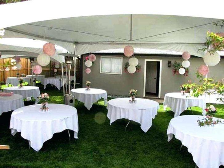 Wedding Decoration Ideas on A Budget | Backyard wedding ...