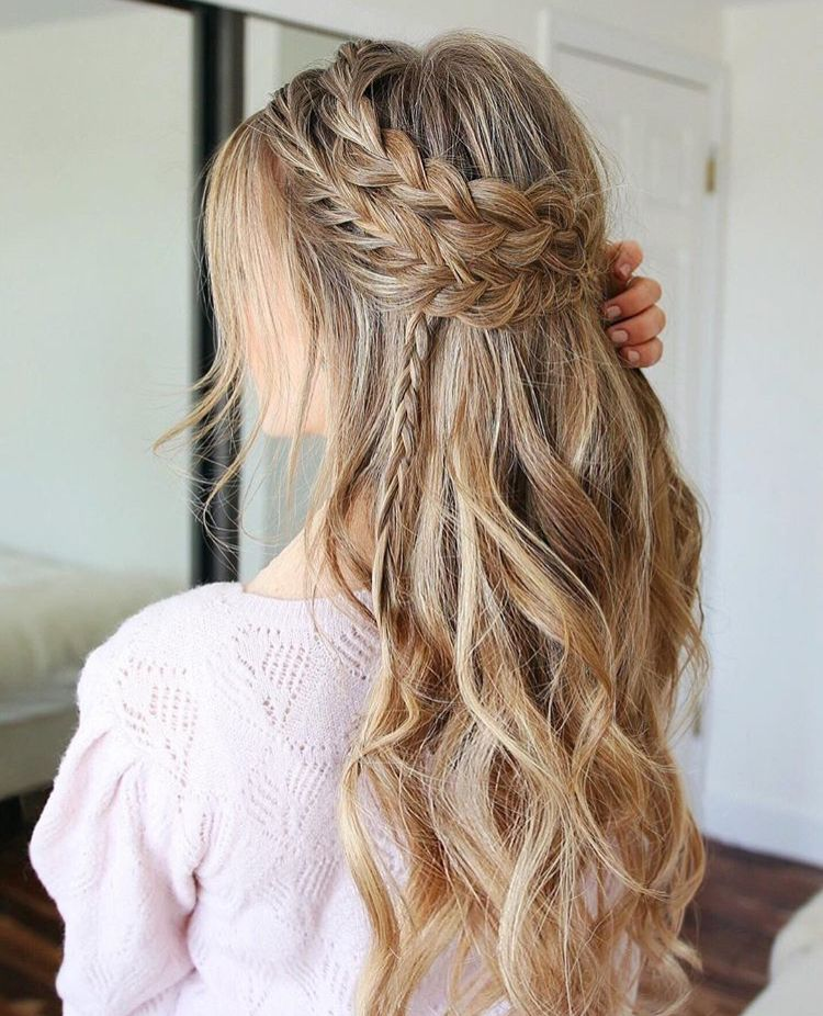 Pinterest Chandlerjocleve Instagram Chandlercleveland Prom Hairstyles For Long Hair Romantic Hairstyles Hair Styles
