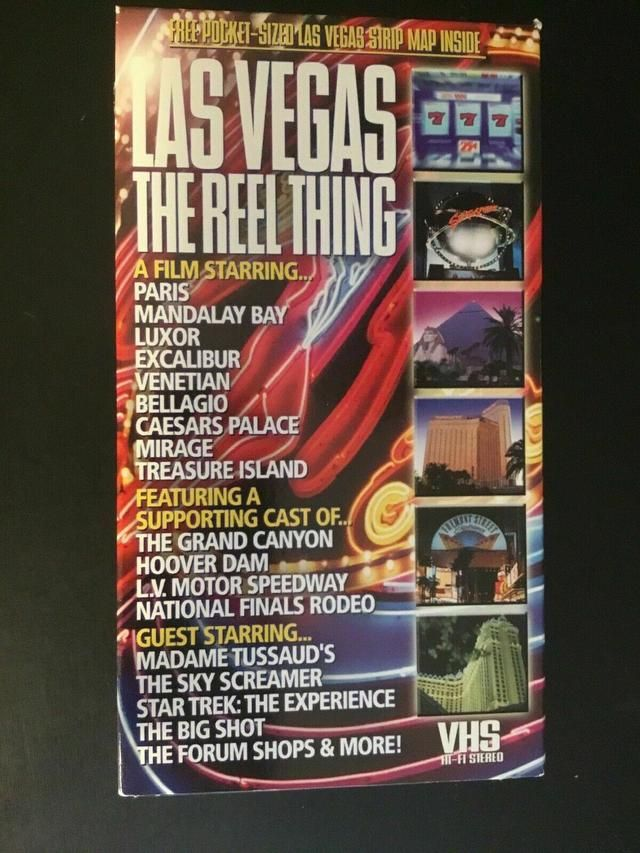 Las Vegas The Reel Thing (VHS/2000) #myposhpicks
