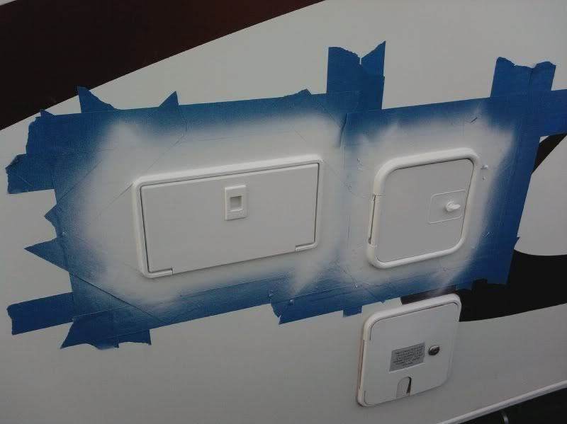 Faded Plastic Trim Making Your Rv Look Old Remodeled Campers Rv Exterior Popup Camper