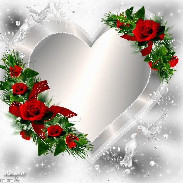 I Love You Rose Frame Flower Frame Flower Wallpaper Flower wallpaper love photo