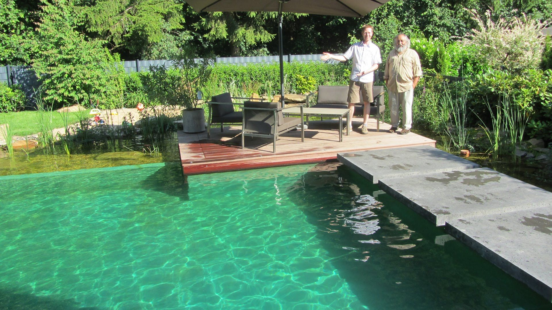 Schwimmteich Planung Bau Youtube Natural Swimming Pools Pinterest