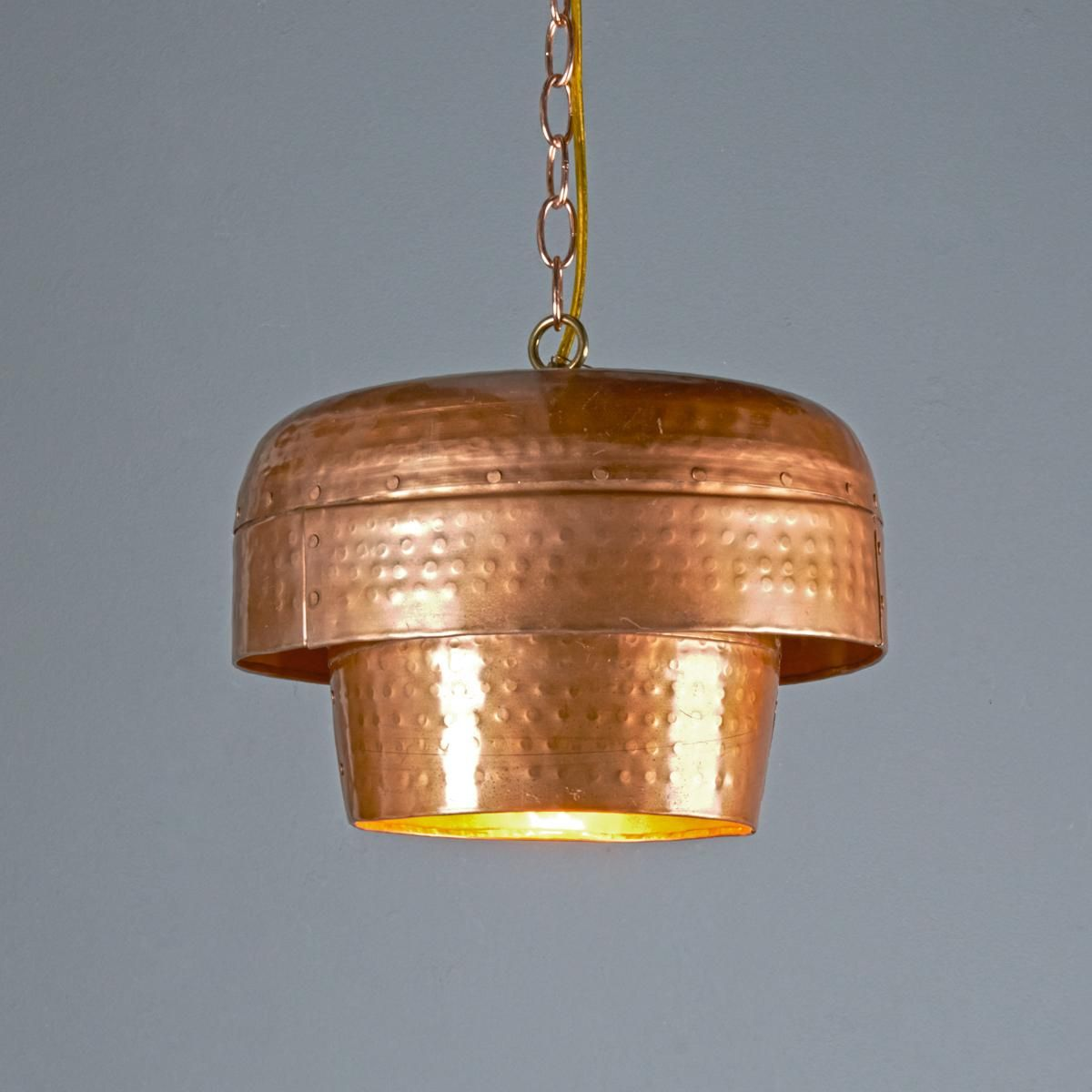 copper pendant light kitchen farmhouse sink tiered bowl a real show