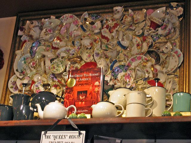 The Queen Mary Tea Room Seattle By Aga Mum Via Flickr