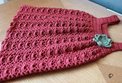 Crochet Knitting Handicraft: sundress for girls knitted crochet