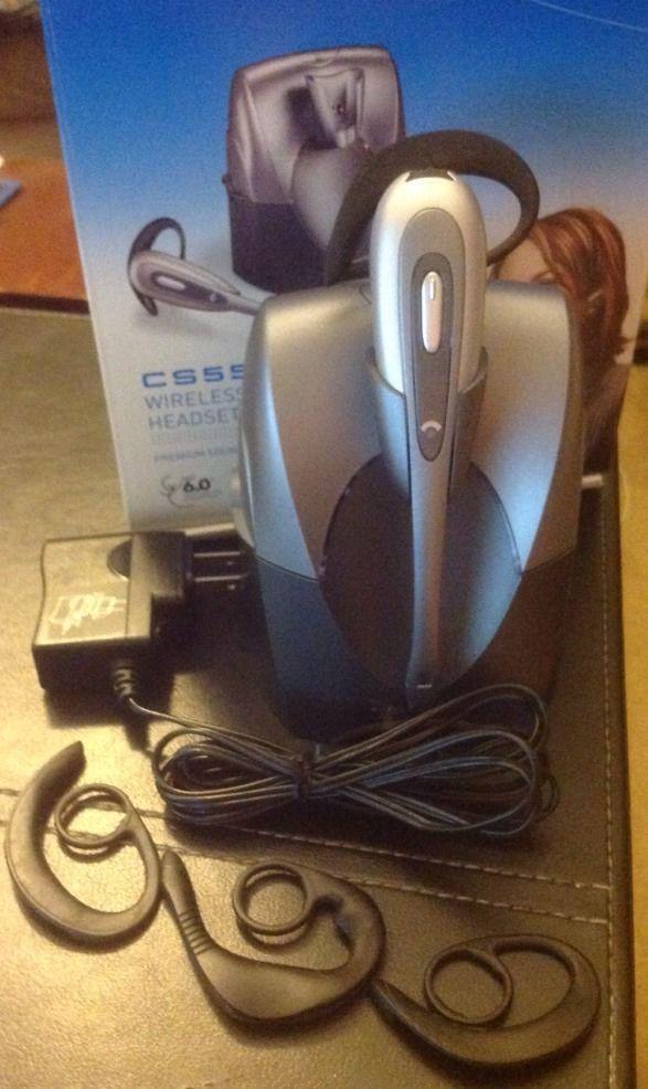 Plantronics CS55 Black//Gray Ear-Hook Headsets
