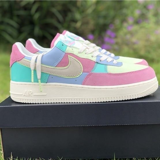check out f4a7e 4067b nike air force 1 low easter egg 2018 ah8462-400