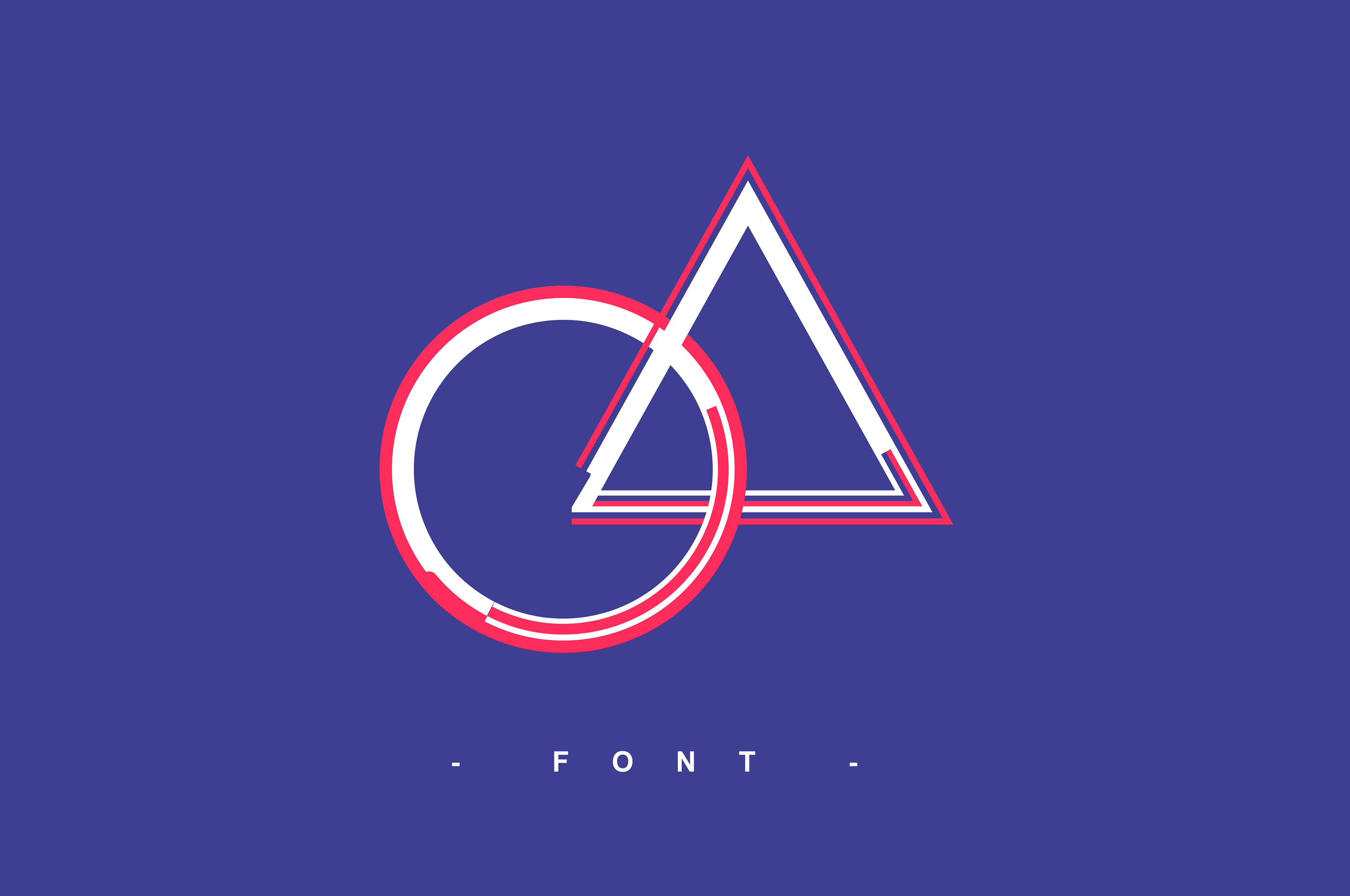 """Creation of the font """"Graphic Strokes"""". I played with the"""