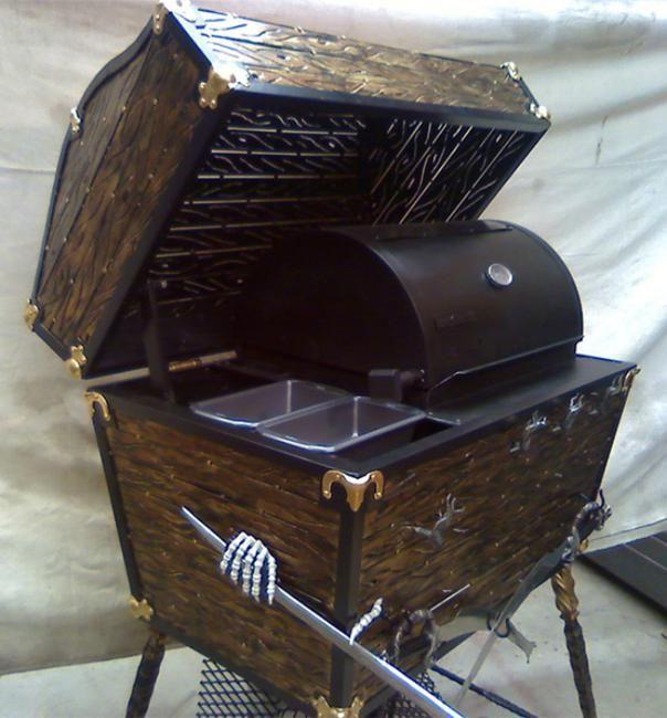 15 Unique Bbq Grills Showing Creative Design Ideas Bbq Bbq Grills Smoker Designs