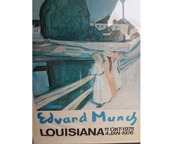 Plakat Edvard Munch B 71 H Ra102 Ramme 102 Hoj Bred 71 Edvard Munch Digital Illustration Munch