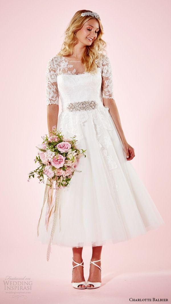 Beautiful 2016 Wedding Dress Trends Part 1 | Charlotte balbier, 2016 ...
